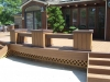 Built In Curved Deck Benches- Amazing Deck