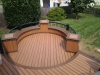 Built In Trex Benches for Deck- Amazing Deck