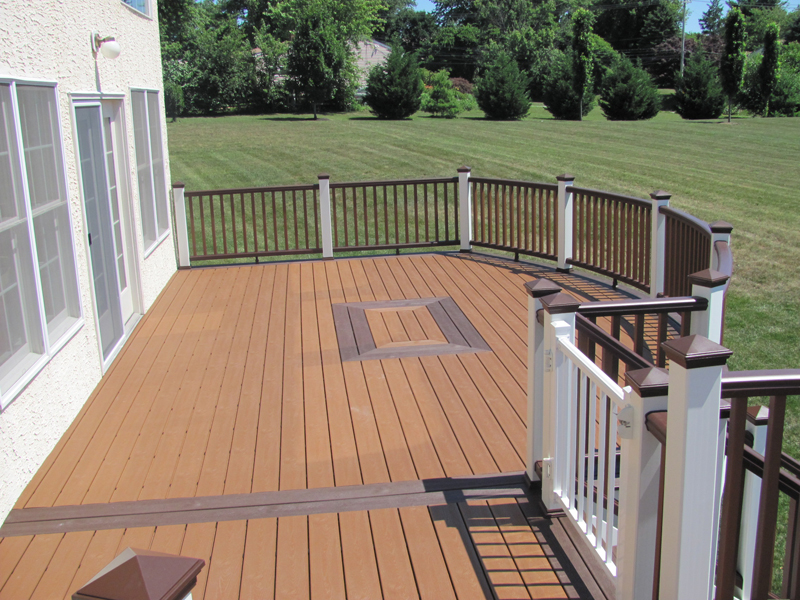 Trex Curved Deck Builder- Amazing Deck