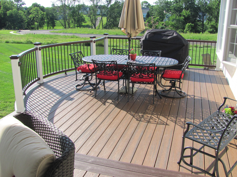 Trex Round Deck Builder near me- Amazing Deck