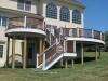 Bi-Level Round Deck with Stairs Builder- Amazing Deck