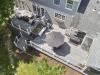 Trex Trescend with White Trex Railing Deck Design Idea- Amazing Deck