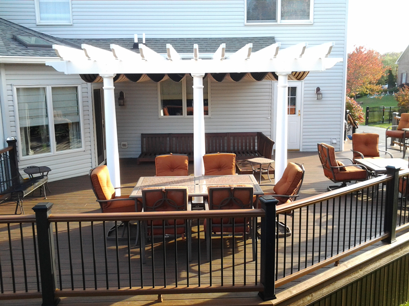 Pergola Designs for Decks- Amazing Deck