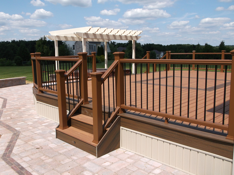 Pergola on Deck Designs- Amazing Deck
