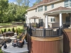 Multi Level Trex Deck Design in NJ- Amazing Deck