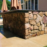 Stonework Brings a Balance of Modern and Traditional to Outdoor Kitchen Deck or Patio Designs