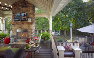 Fireplaces for Decks- Deck and Patio Fireplace- Amazing Decks