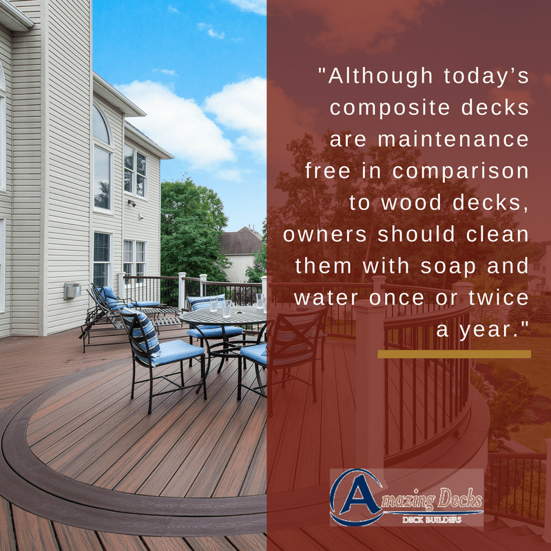 How to Clean Composite Deck- Cleaning Decks- Amazing Deck