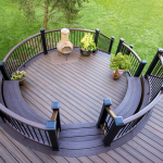 Curved Deck Designs in NJ and PA- Amazing Deck