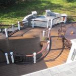Curved Deck Design Trex- Amazing Deck