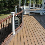 Trex Railing with Trex Decking- Amazing Deck