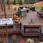 Deck Design with Hot Tub- Amazing Deck