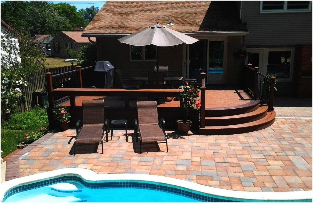 Integrated Deck and Patio Design with a Pool- Pool Deck Contractors- Amazing Decks