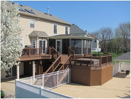 Enclosed Deck Ideas And Designs  Amazing Deck