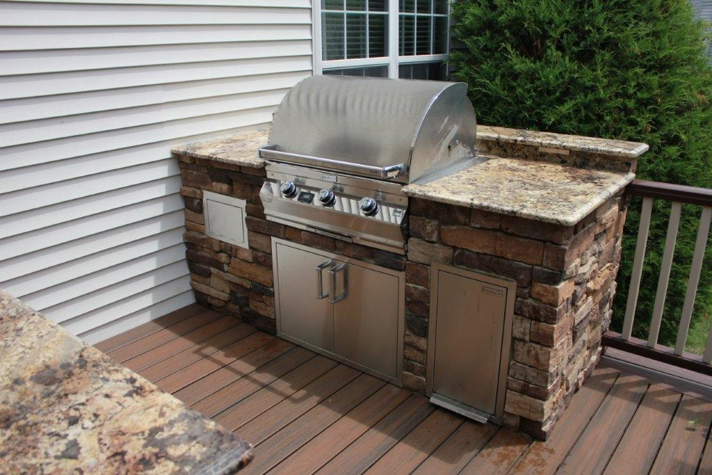 Outdoor Kitchen Deck 1