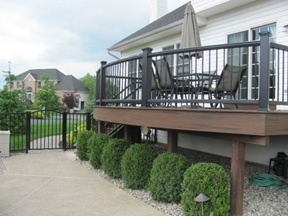 Custom Curved Deck With Trex Decking  Deck Builders In Pa And NJ  Amazing  Decks