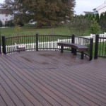 Backyard Curved Trex Deck Designs- Amazing Deck