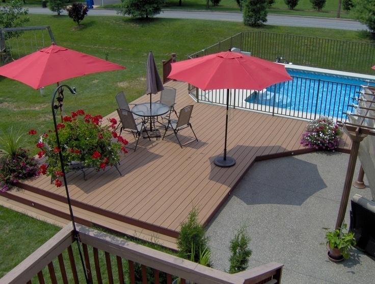 Trex Composite Deck Builder- Pool Patio and Deck Builder Near Me- Amazing Deck