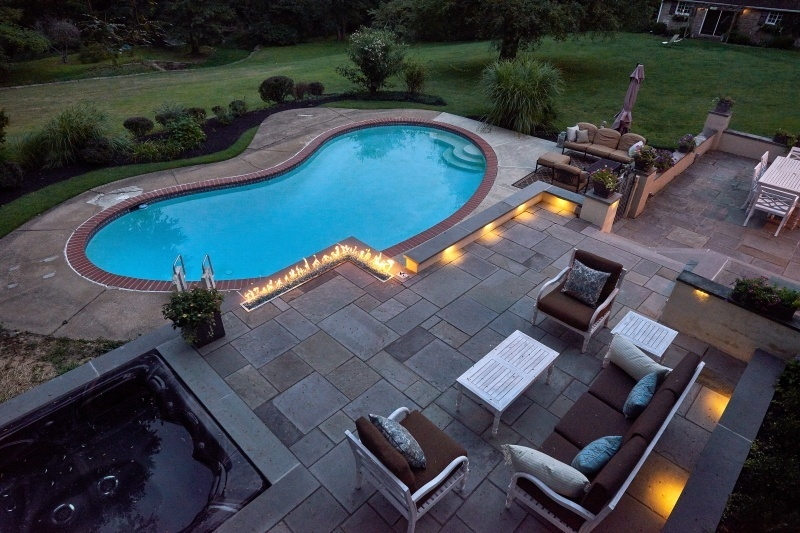 Deck and Patio Lighting- Lighting for Pool Patios- Amazing Deck
