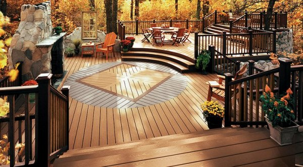 outdoor deck living room