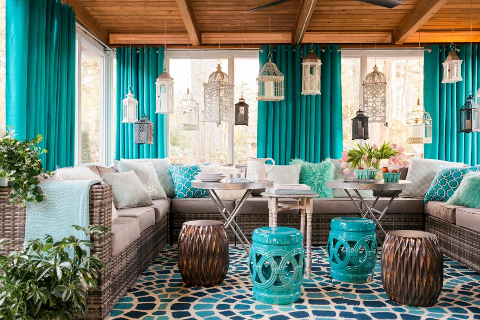 Screened In Porch Design Ideas for Window Treatments- Amazing Deck