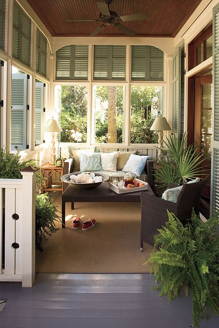 Window Treatment Ideas for Screened In Porches- Amazing Deck