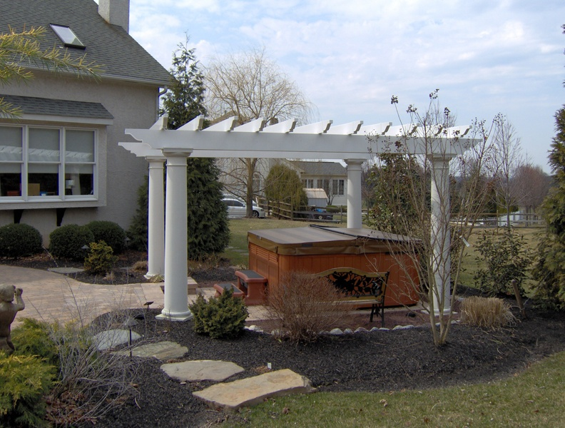 Pergola Patio Designs- Patio Builders in PA and NJ- Amazing Decks