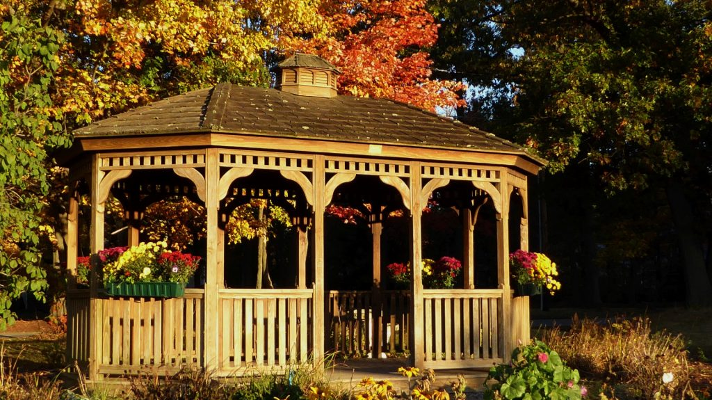 Outdoor Gazebos Designs- Custom Patio Design Ideas- Amazing Deck