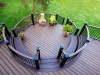 Round Built In Benches for Decks Design- Amazing