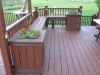 Deck Planter Box and Benches- Amazing Deck