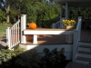 Custom Built In Benches for Patios- Amazing Deck