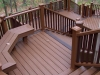 Trex Deck Design with Built In Benches- Amazing Deck