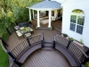 Custom Trex Transcend Deck with Roof- Lansdale, Pa