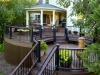 Custom Curved Deck with Trex Railing- New London, Pa