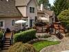 Trex Decking Design with Custom Stone Patio- Morristown NJ