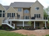 Trex Deck with White Railing- Warren NJ