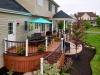 Curved Deck Design- Hillsboro, NJ