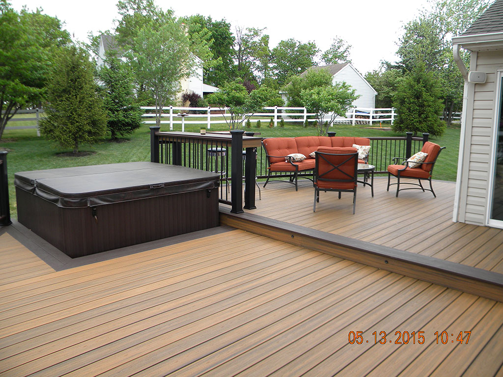 Trex Transcend with Spa Deck- Monroe, NJ