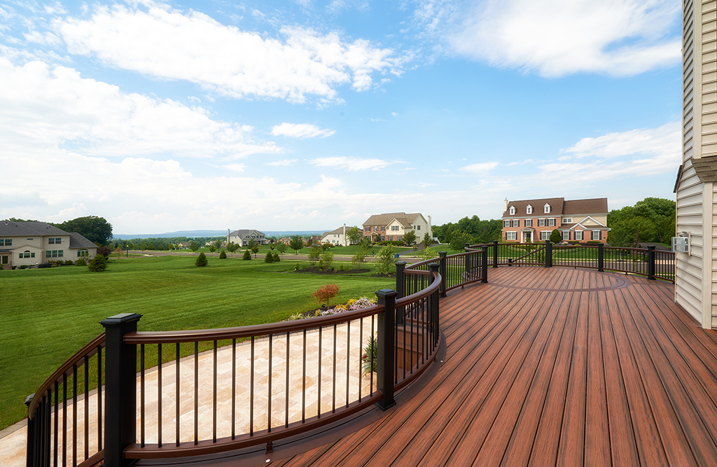 Composite Deck Builder near Hilltown Pa- Amazing Deck
