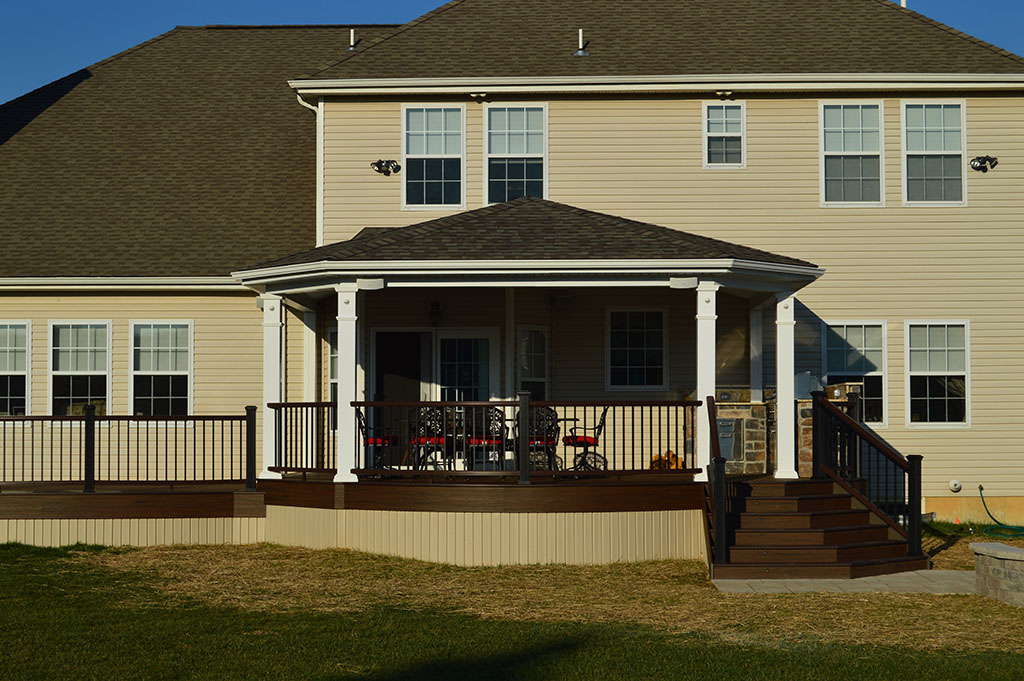Custom Deck Builder with Roof- Penn Valley, Pa