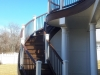 Trex Railing for Multi Level Decking- West Chester Pa.