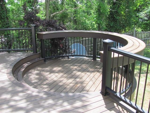 Custom Curved Deck Builder- Amazing Deck