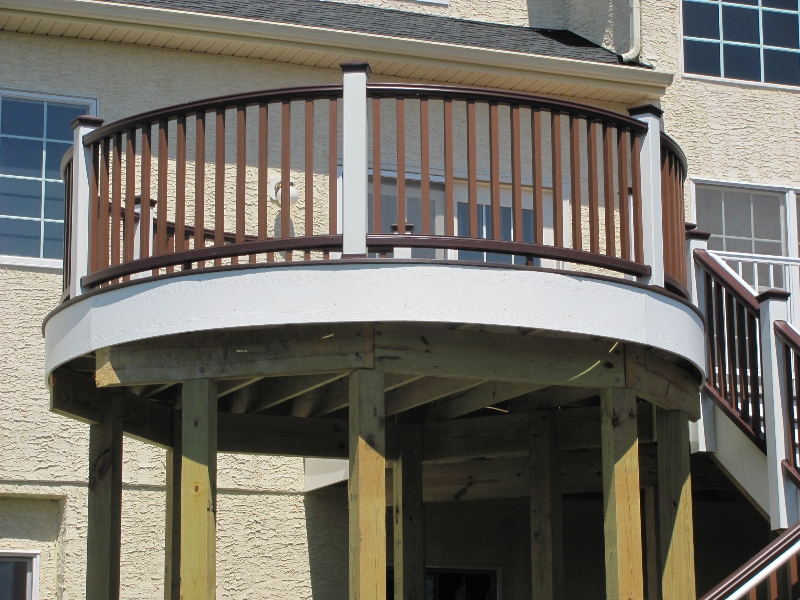 Curved Deck Designs Deck Contractor Amazing Decks