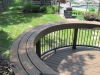 Custom Curved Deck Railing Idea- Amazing Deck