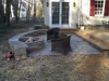 Outdoor Patio with Fireplace- Patio Contractor- Amazing Deck