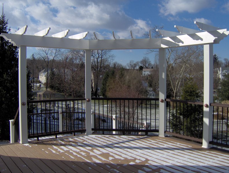 Patio with Pergola Designs- Amazing Deck