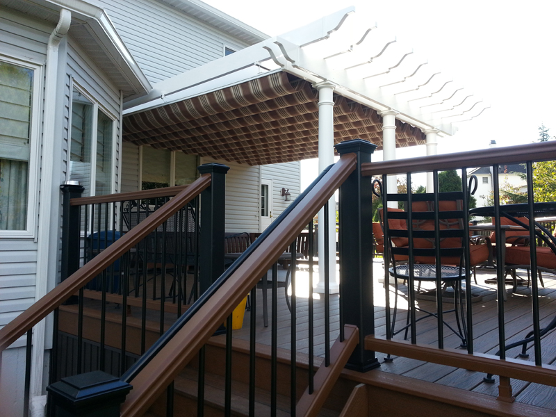 Covered Pergola Deck Builder- Amazing Deck