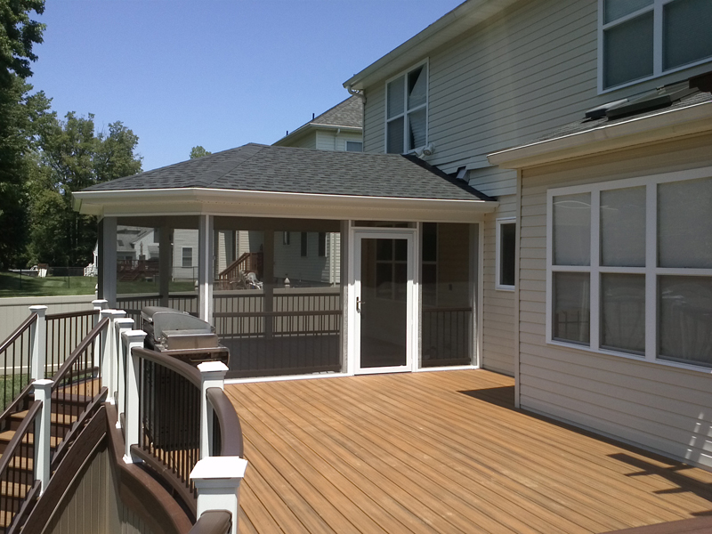 Screened In Deck Designs- Amazing Deck