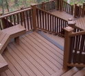 Built in Deck Planters and Benches