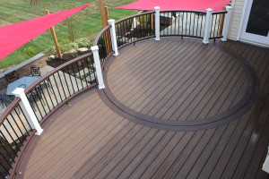 Curved Decks Designs- Deck Contractors in PA and NJ- Amazing Decks
